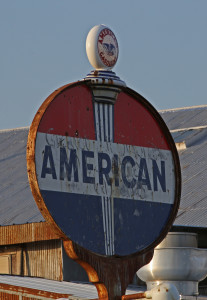 American Oil Sign+