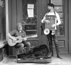 Street Musicians 1 BW+