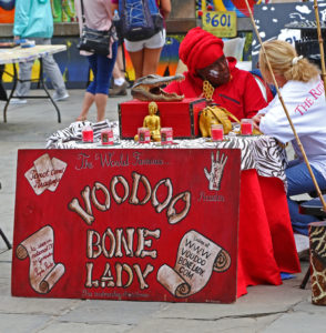 Voodoo Bone Lady+